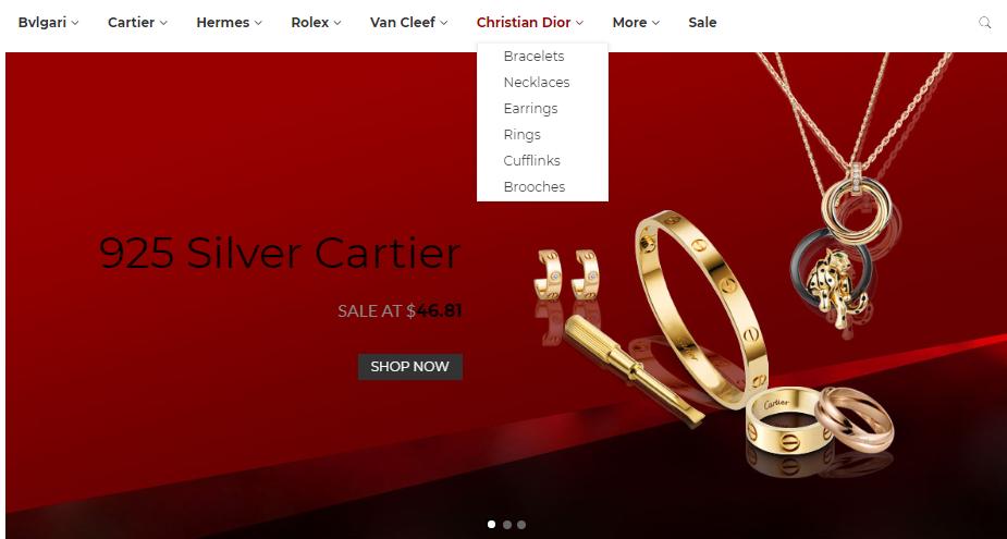 designer replica jewelry wholesale