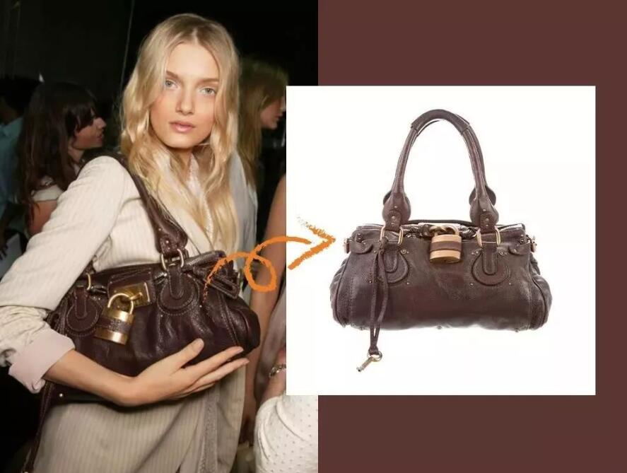 Chloé Paddington bag star